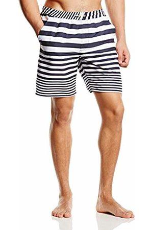 Timberland Clothing Men's Sunapee Lake Stripe Iris Sports Shorts