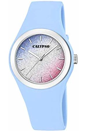 Calypso watches Womens Analogue Classic Quartz Watch with Plastic Strap K5754/4
