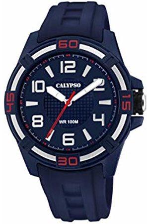 Calypso watches Unisex Adult Analogue Classic Quartz Watch with Plastic Strap K5760/2