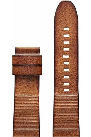 Diesel Unisex Adult Leather Watch Strap DZT0003