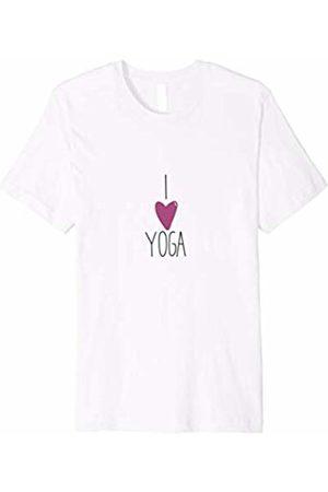Unique Yoga Tees I Love Yoga Women T-Shirt