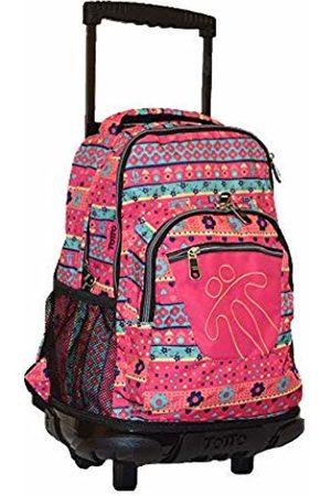 TOTTO Mochila Escolar Con Ruedas, Grande Infanti Mochilas Children's Backpack