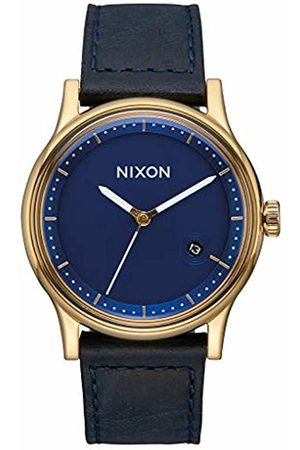 Nixon Mens Analogue Quartz Watch with Leather Strap A1161-933-00