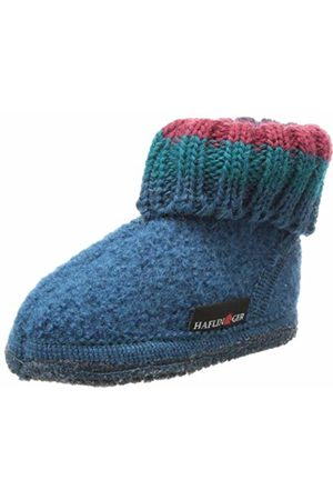 Haflinger Unisex Kids' Hüttenschuh Paul Hi-Top Slippers