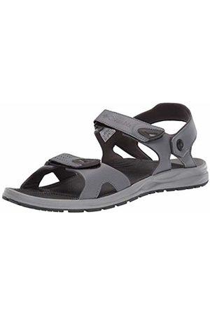 Columbia Men's WAYFINDER 2 Strap Sports Sandals, (Ti Steel, Shark 033)