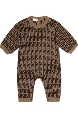 Fendi Cotton and cashmere onesie