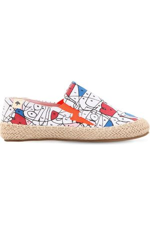 Billybandit Printed Cotton Canvas Espadrilles