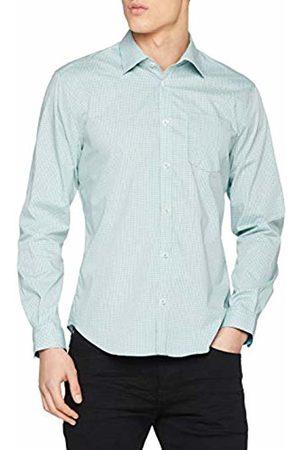 Esprit Collection Men's 019eo2f001 Formal Shirt, (Teal 455)