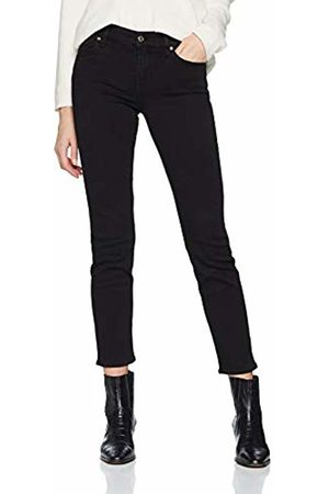 Seven for all Mankind Women's Mid Rise Roxanne Crop Slim Jeans, (Bair Rinsed 0xh)