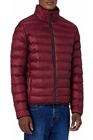 MERAKI Men's Puffer Jacket with High Neck
