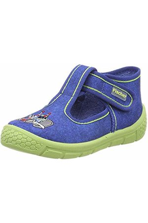 Fischer Boys' Honey Hi-Top Slippers