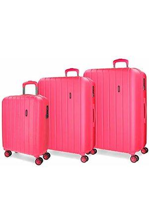 MOVOM Wood Luggage Set, 75 cm