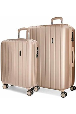 MOVOM Wood Luggage Set, 65 cm