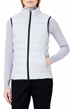MERAKI Women's Padded Gilet with High Neck