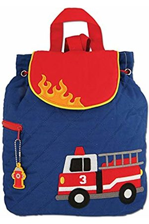 Stephen Joseph Children's Quilted Backpack - Fire Engine