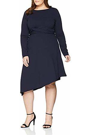 Lost Ink Women's Dress with Cross TIE Waist Skirt