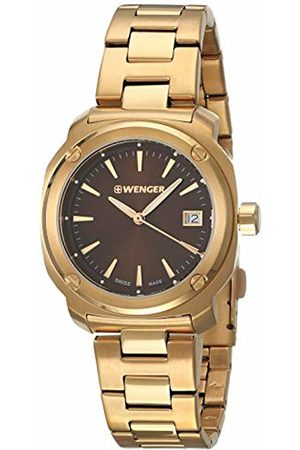 Wenger Women's Analogue Quartz Watch with Stainless Steel Strap 01.1121.105