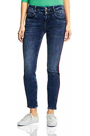 Street one Women's 371883 Bonny Slim Jeans, (Mid Random Wash 11699)