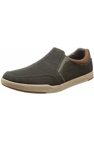 Clarks Men's Step Isle Slip Loafers (Khaki -) 10.5 UK