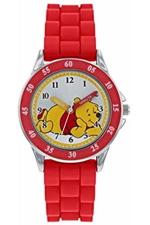 WINNIE THE POEH Unisex Child Analogue Classic Quartz Watch with Rubber Strap WP3000
