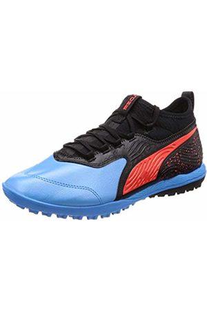 Puma Men's ONE 19.3 TT Footbal Shoes, (Bleu Azur- Blast )