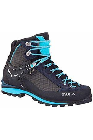Salewa Women's Ws Crow GTX High Rise Hiking Boots, (Premium Navy/Ethernal 3985)