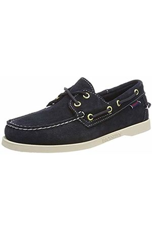 SEBAGO Women Shoes - Women's Docksides Portland Suede W Boat Shoes, ( Navy 908)