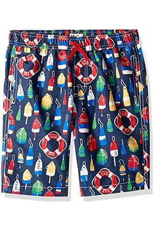 Hatley Boy's Trunks Swim Shorts, (Distressed Buoys)