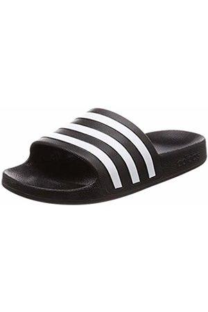 adidas Unisex Adults' Adilette Aqua Beach & Pool Shoes, Nero FTWR /Core
