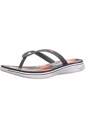Skechers Women's H2 GOGA-Lagoon Flip Flops