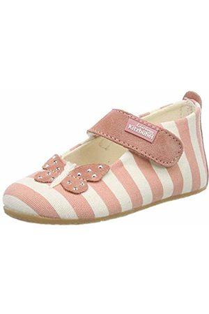 Living Kitzbühel Baby Girls' Babyballerina Streifen Und Schmetterling Slippers