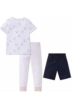 Schiesser Girls Pyjamas - Girl's Cat Zoe Md 3-teiliger Anzug Pyjama Set