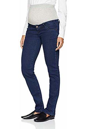 Mama Licious Women's Mllola Straight Unw Jeans Noos A. Maternity Trousers, Dark Denim