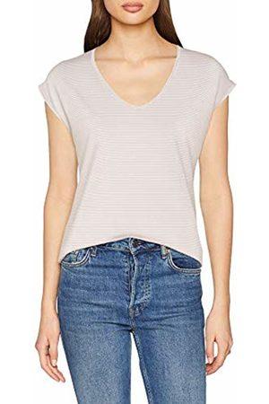 Pieces Women's Pcbillo Tee Lurex Stripes Noos T-Shirt, (Bright Detail:Lurex in )