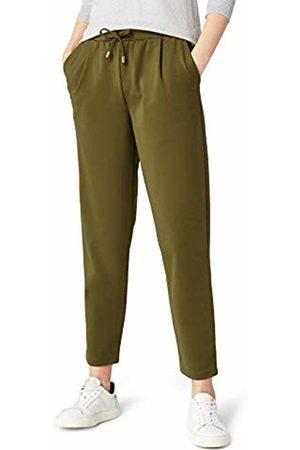 MERAKI Paula Comfort Trouser, Dark Olive