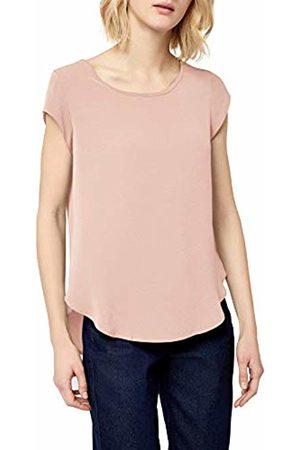 ONLY NOS Women's Onlvic S/s Solid Top Noos WVN Vest, Pale Mauve