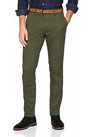 Tom Tailor Denim (NOS) Men's Basic Slim Chino Hose Trouser, ( Mini Zig Zag D 15779)