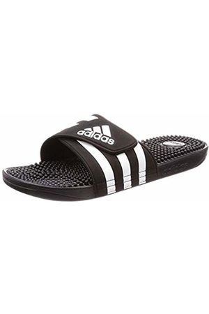 adidas Unisex Adults' Adissage Beach & Pool Shoes, Nero FTWR /Core