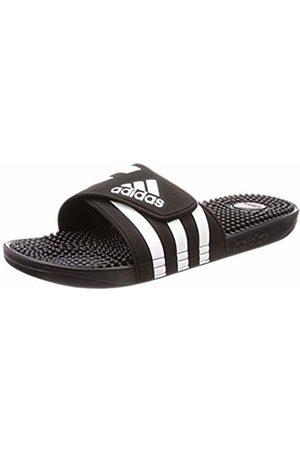 adidas Unisex Adults' Adissage Beach & Pool Shoes, Nero FTWR /Core