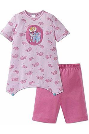 Schiesser Girl's Prinzessin Lillifee Md Anzug Kurz Pyjama Set