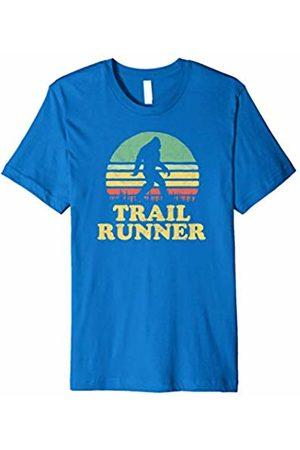 Nature Rush Outdoor Sports Threads Bigfoot Trail Runner Vintage Ultra Marathon T-Shirt