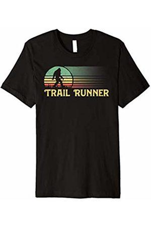 Bigfoot UFO Believer 2001 Tees Bigfoot Trail Runner Vintage Ultra Marathon T-Shirt