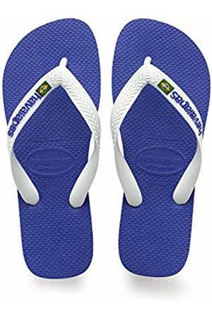 Havaianas Brasil Logo Unisex Adult's Flip Flops,MARINE