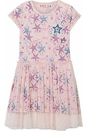 Desigual Girl Knit Dress Short Sleeve (Vest_rincmonf) (Pale 3025)
