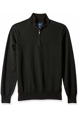 Buttoned Down Supima Cotton Quarter-Zip Sweater