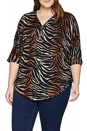 New Look Women's Ombre Tiger 6080361 Blouse, ( Pattern 29)