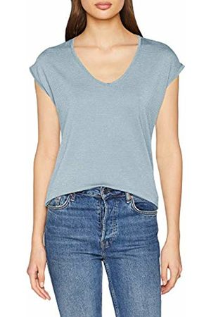 Pieces Women's Pcbillo Tee Stripes Noos T-Shirt, (Dusty Detail: Lurex)