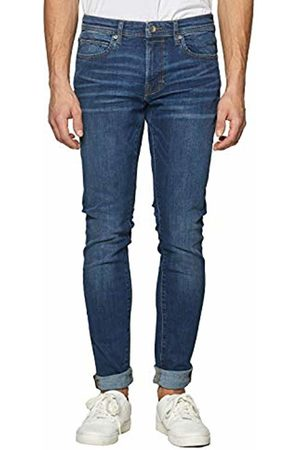Esprit Men's 999EE2B803 Slim Jeans, ( Dark Wash 901)