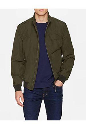 Geox Men's M Vincit Bomber Jacket (Spring Olive F) Large (Size: 52)