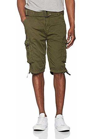 Schott NYC Men's Ranger 30 Swim Shorts, Vert (Olive)